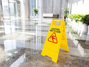Minimizing The Hazard of Floor Slipperiness