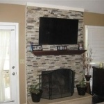 Recycle 101: Refacing a Fireplace in One Day